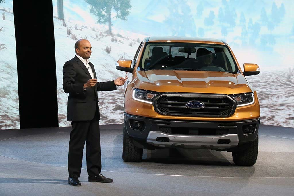 Ford Ousts EVP Nair After Investigation