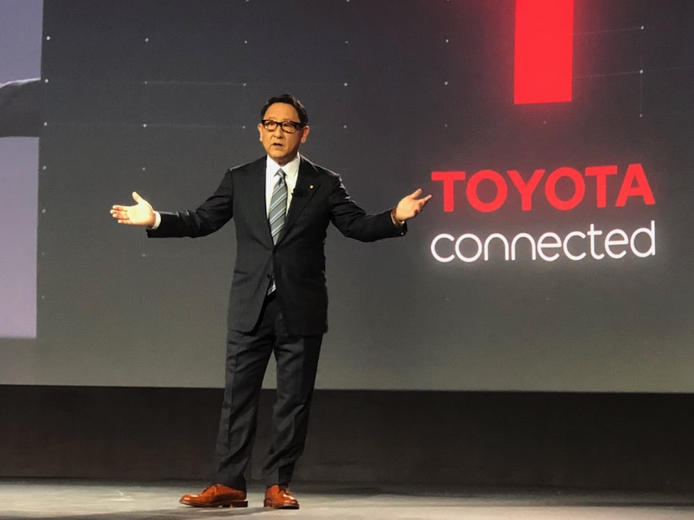 Akio Toyoda's Message Shows Real Leadership