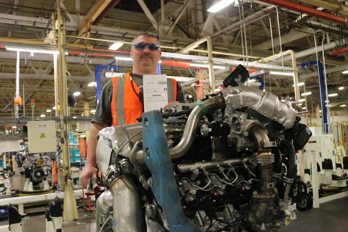 GM's Flint Engine Operations will build Chevy Silverado turbo-diesel engine