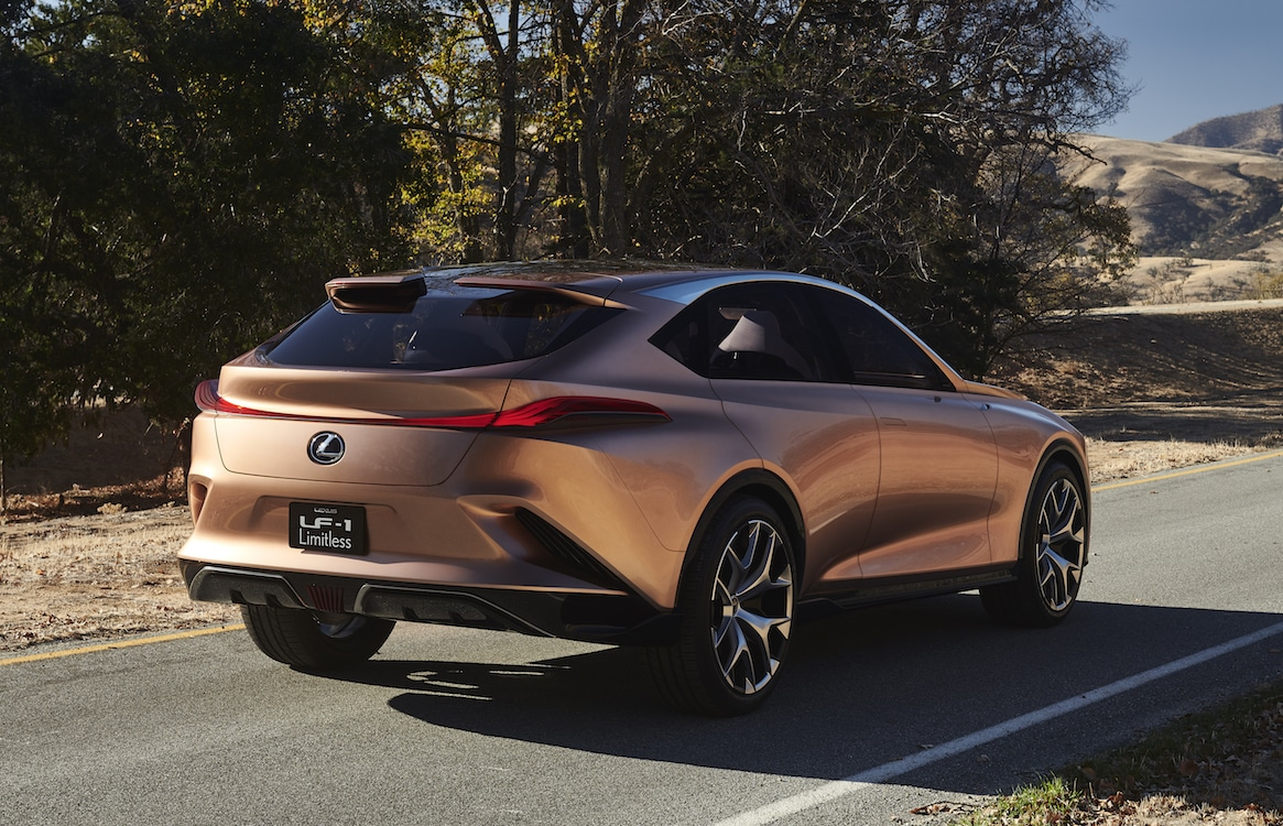 lexus shifts direction with lf 1 limitless crossover concept. Black Bedroom Furniture Sets. Home Design Ideas