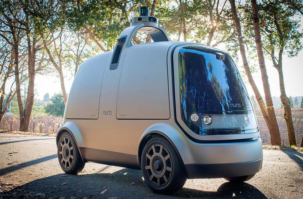 Toaster-Shaped Nuro R1 Could Soon Pop Up as Driverless Delivery Van