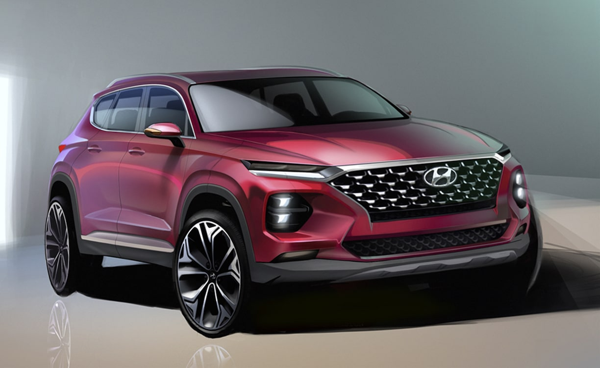Hyundai Offers Up First Look of New Santa Fe
