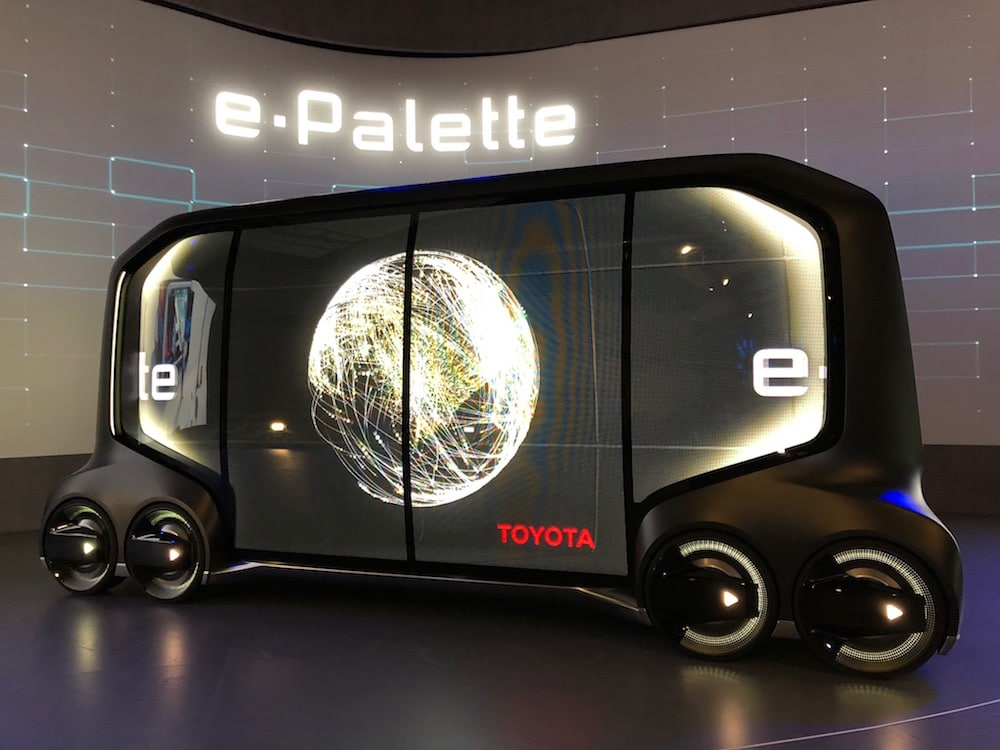 Toyota Paints The Future Of Mobility With E Palette