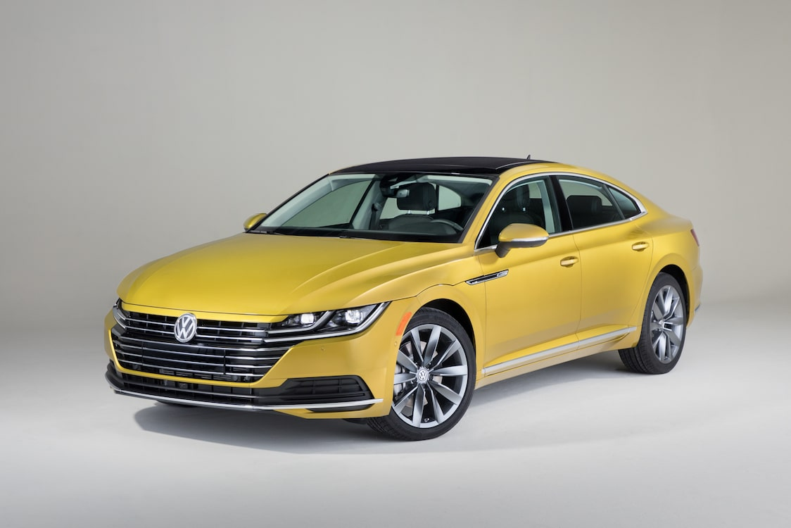 Volkswagen launches new Arteon sedan