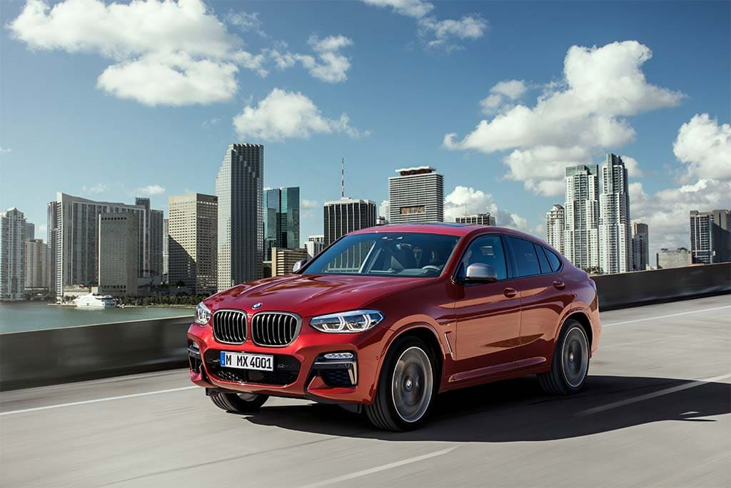 BMW X4 gets official rocking improved aero and improved suspension