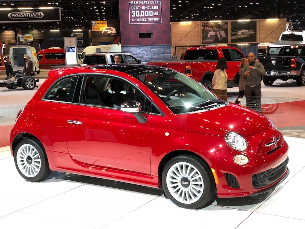 fiat hopes to turbocharge sales with updated 500 line. Black Bedroom Furniture Sets. Home Design Ideas