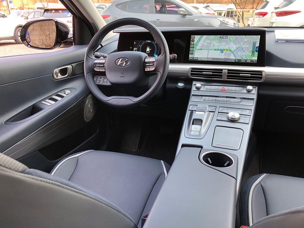 First Drive 2019 Hyundai Nexo Fuel Cell Vehicle Thedetroitbureau Com