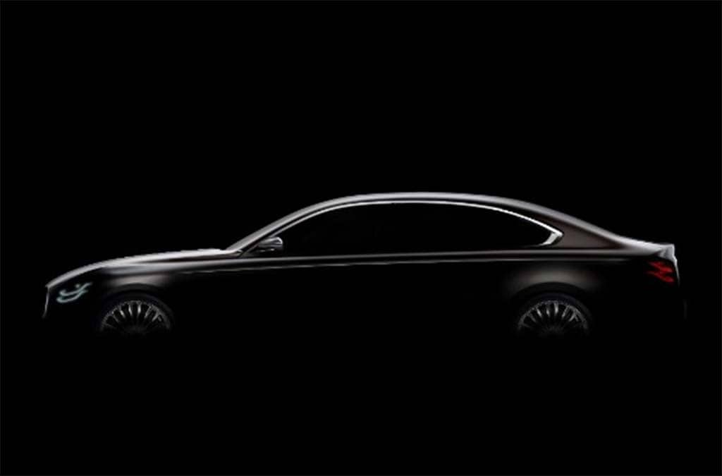 Kia's K900 Getting New Look