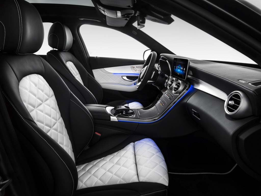 New mercedes benz c class getting more power more smarts for Mercedes c class 2015 interior