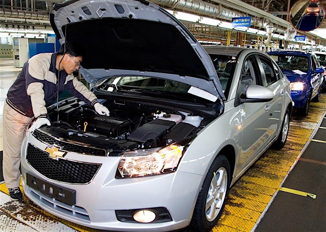 General Motors Sells South Korean Plant to EV Maker