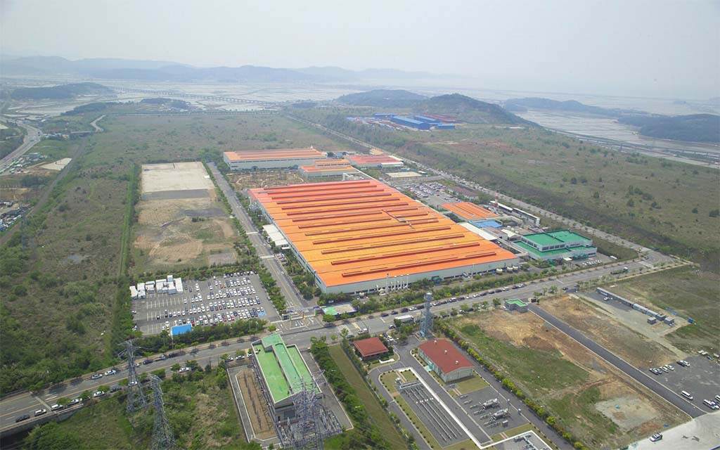 GM says it will consider the fate of its remaining three Korean plants including this one in Boryeong