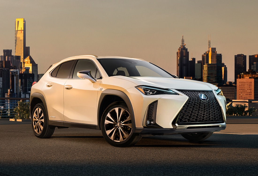 """Lexus Releases First Official Look at UX """"Urban Crossover"""""""