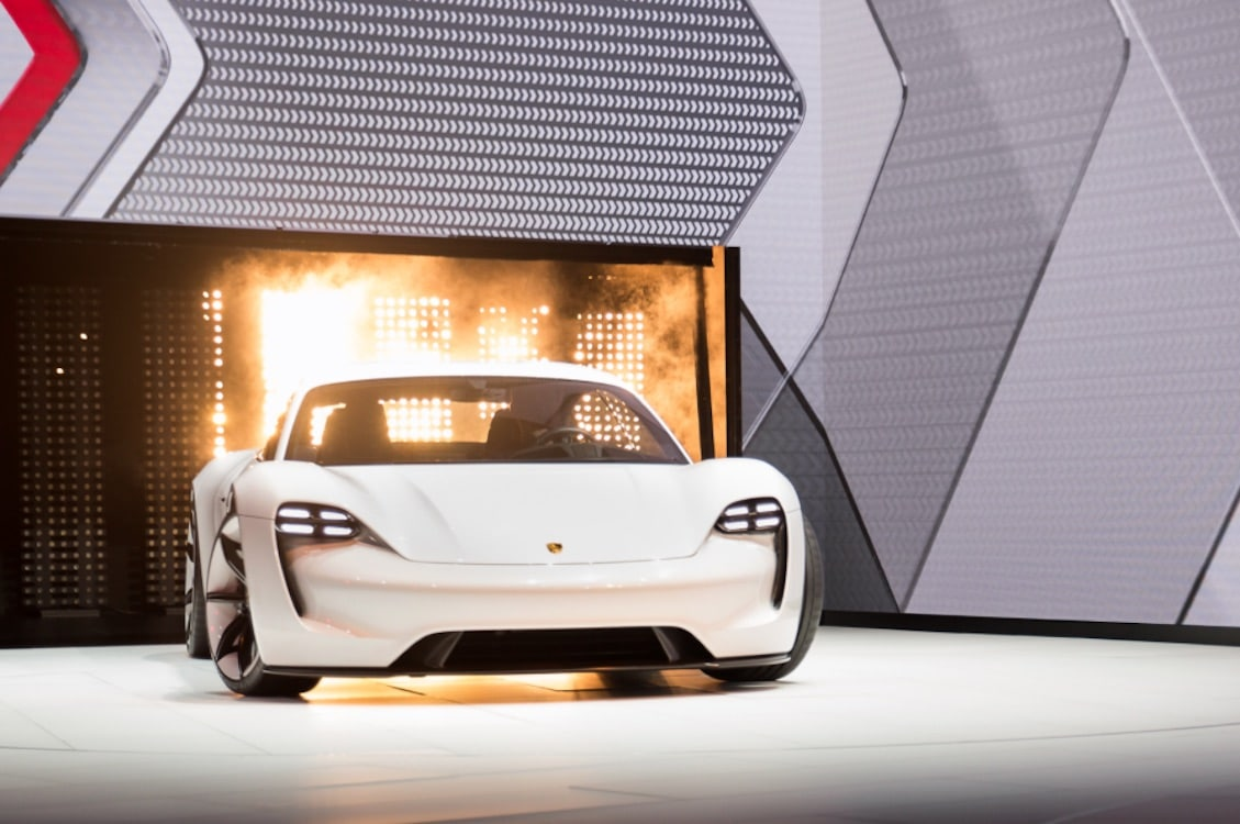 Mission E is Porsche's electric dream machine with super-fast charging