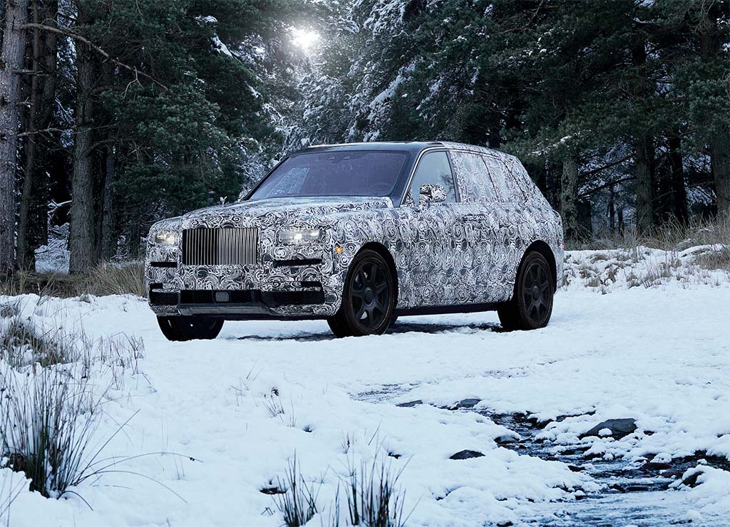It's Official: Rolls-Royce SUV Will be Named Cullinan