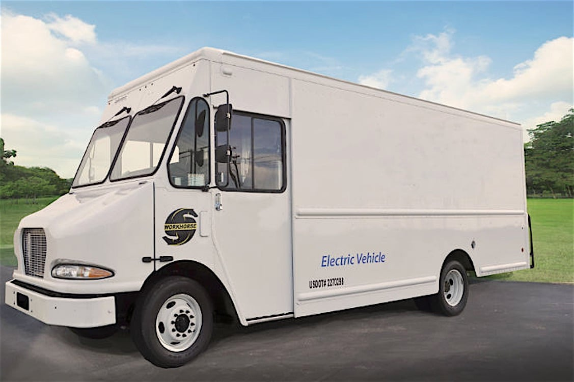 UPS Orders 50 Battery-Electric Delivery Vans from Workhorse