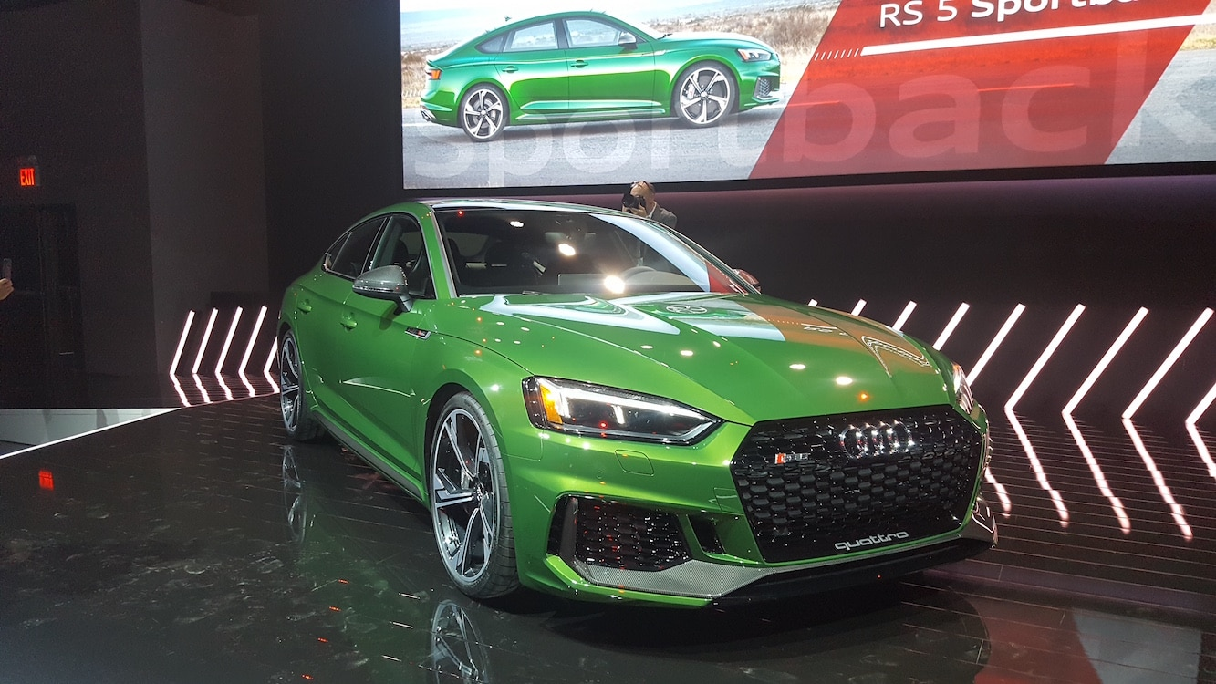 Audi's Bringing Sport-y Back With New RS 5 Sportback