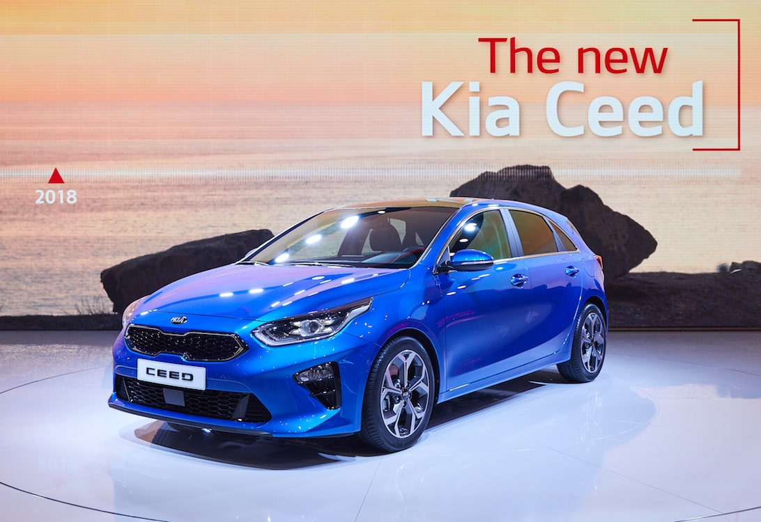 kia bolsters line up with new ceed and rio gt. Black Bedroom Furniture Sets. Home Design Ideas