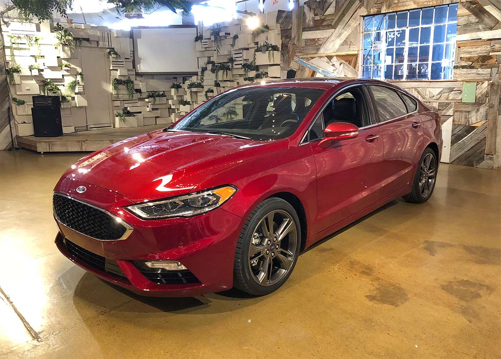 "2019 Fusion to Be Ford's ""Most Technologically ..."