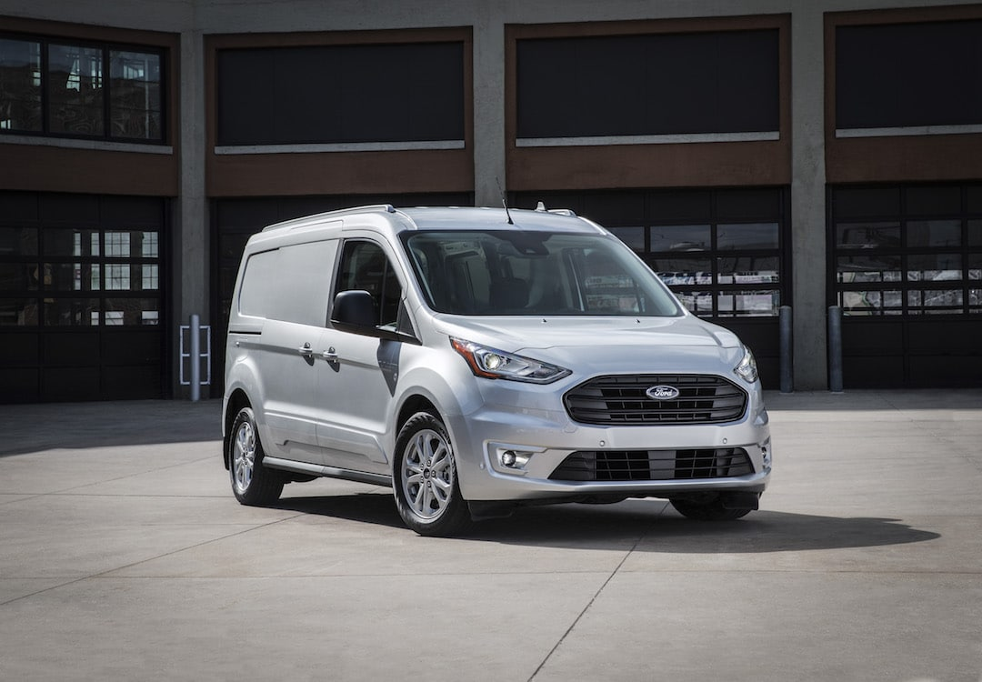 Ford Cargo Vans >> Ford Debuts New Transit Connect Cargo Van ...