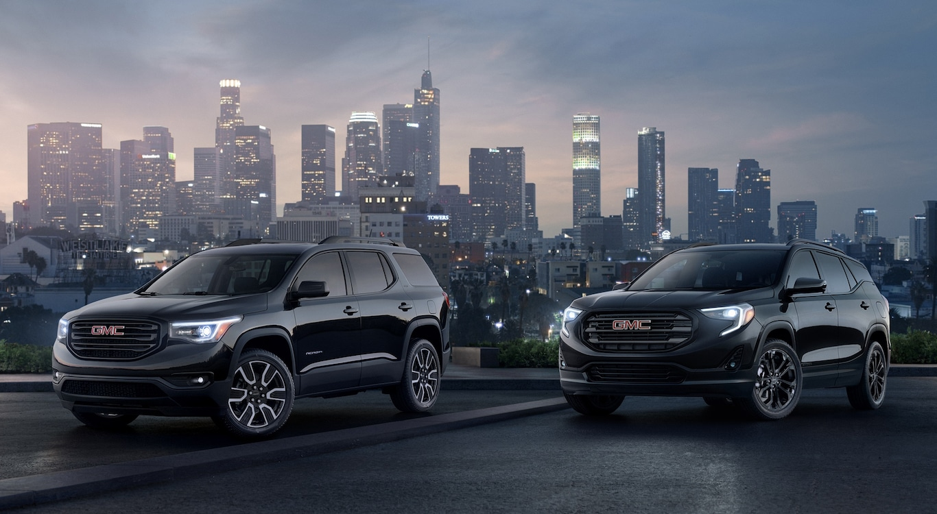 "GMC Adding ""Black"" Models to 2019 Offerings ..."