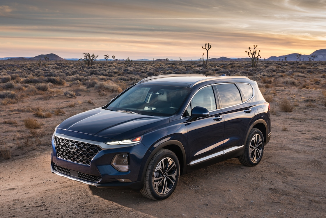 Hyundai Continues Expansion of SUV Line-Up with New Santa Fe