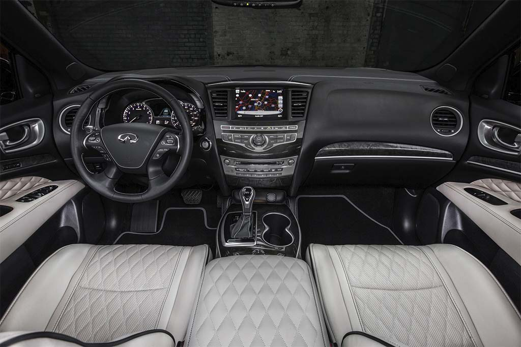 Infiniti Qx60 Interior >> Infiniti Unleashes Two Limited SUVs for NYIAS | TheDetroitBureau.com