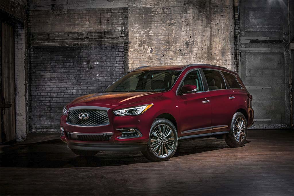 Infiniti Reveals More Luxurious 'Limited' Versions Of 2019 QX60 And QX80