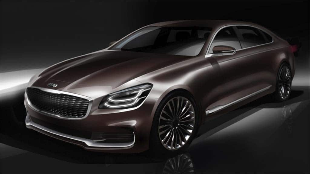 Kia's K900 Sticking Around – and Here's a First Look