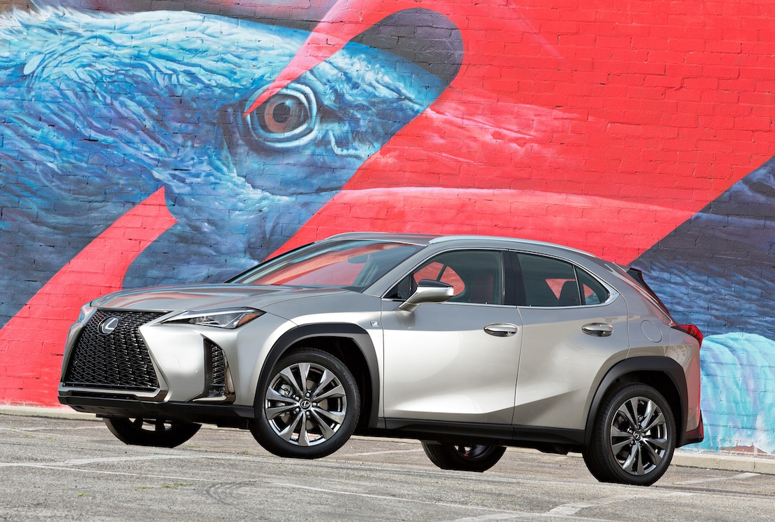 Lexus UX will be available via a subscription