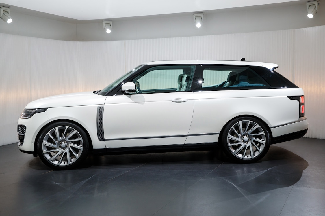 Land Rover Brings Back the Two Door with SV Coupe ...