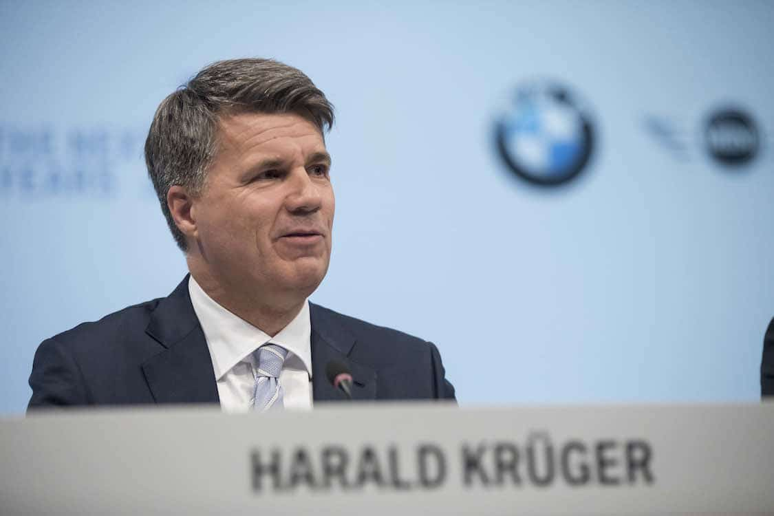 Krueger Stepping Aside as Leader at BMW