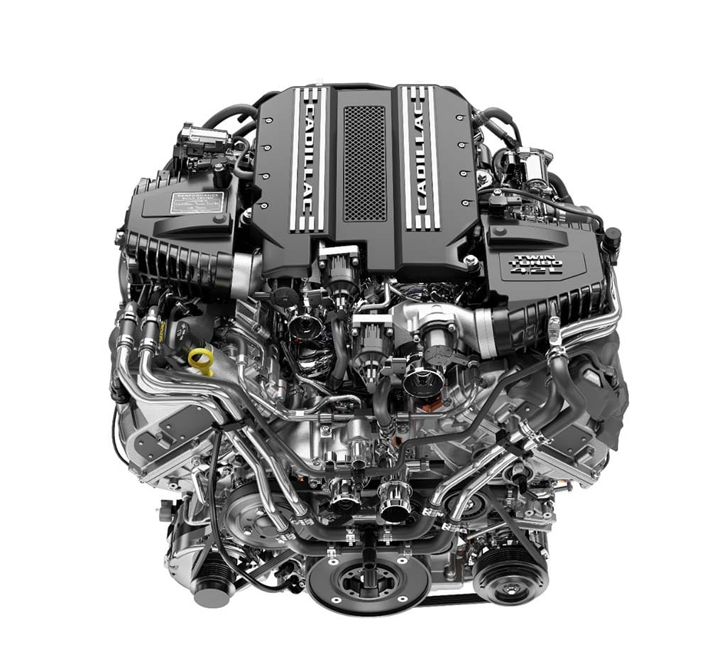 Cadillac CT6 V-Sport muscles in with all-new twin-turbo V8
