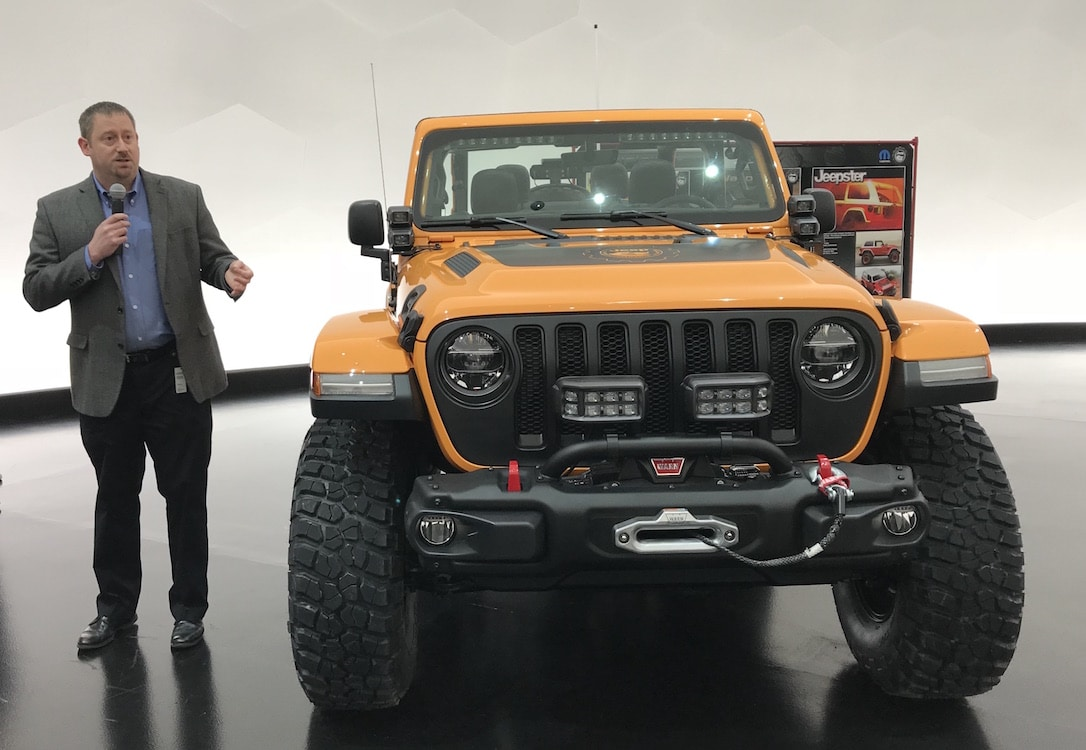 Jeep Design, Mopar Letting It All Hang Out for Moab