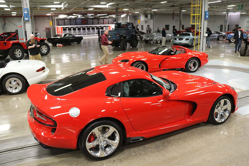 Back From the Dead: Chrysler Finds New Use for Old Viper Plant ...