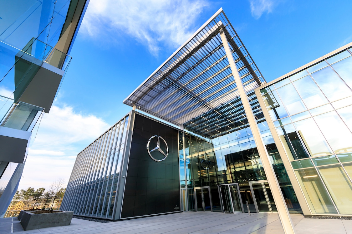 Mercedes moving into new na headquarters in atlanta for Mercedes benz north america headquarters