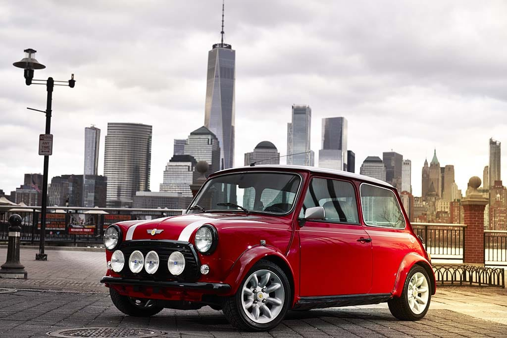 Mini reveals electric version of original model, highlighting the brand's ambitions