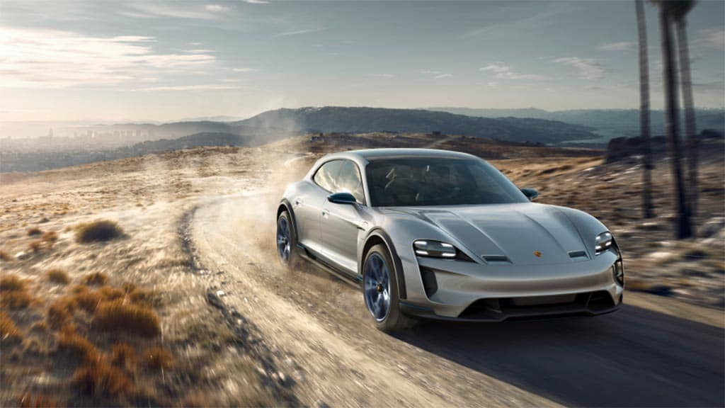 first look porsche mission e cross turismo. Black Bedroom Furniture Sets. Home Design Ideas