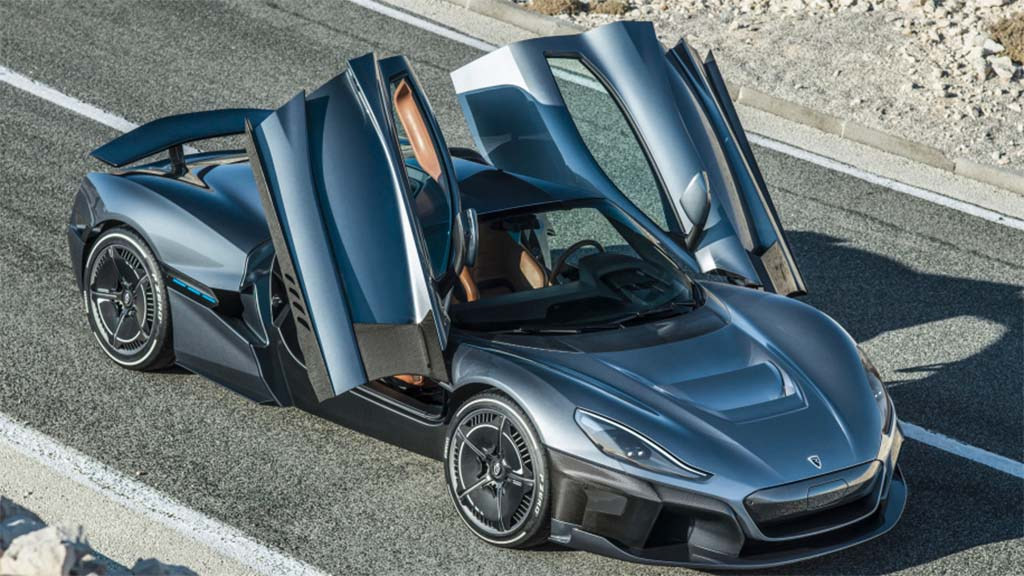 Rimac Concept Two Ev Nudges 2 000 Hp Hits 60 In Under Two