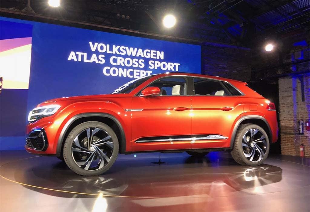 Smaller is Bigger with 2-Row Volkswagen Atlas Sport Cross Concept | TheDetroitBureau.com