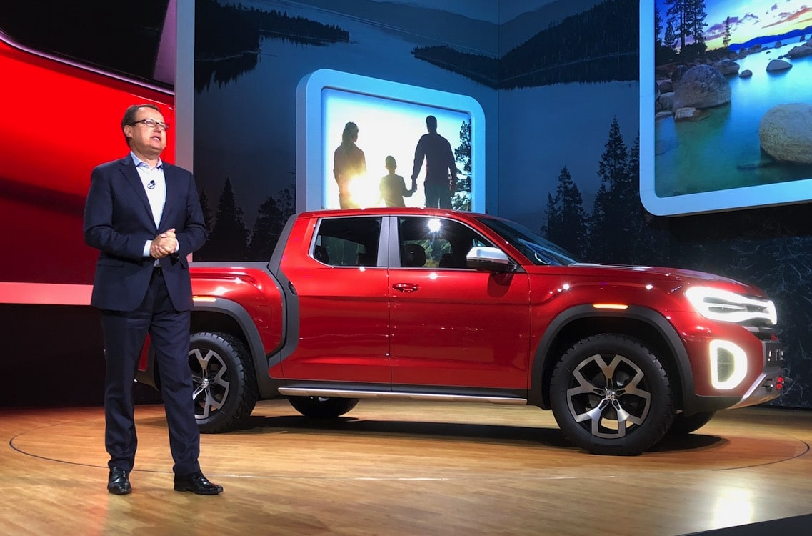 Vw Targets The American Heartland With Atlas Tanoak Pickup Concept