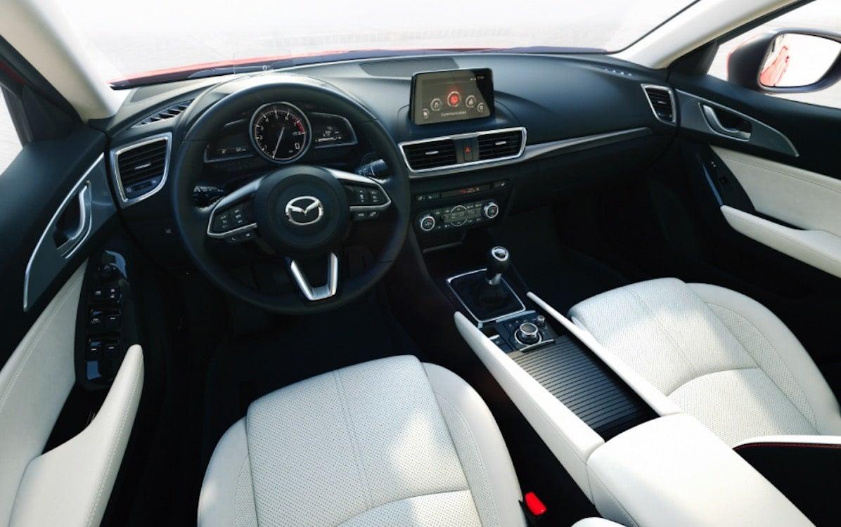 The Interior Of The Mazda3 ...