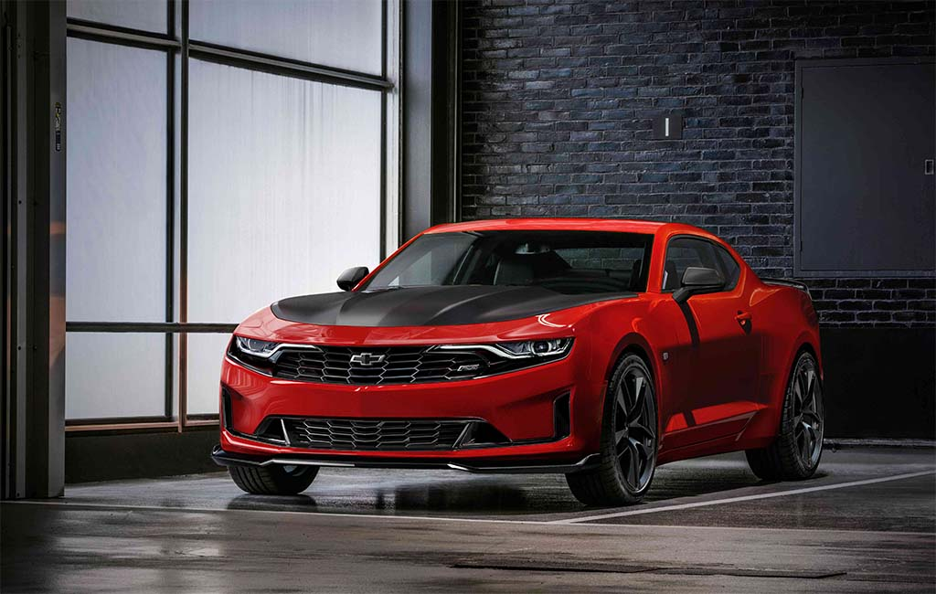 Chevy Rolls Out Radical New Face for Camaro SS, New Turbo 1LE Models | TheDetroitBureau.com