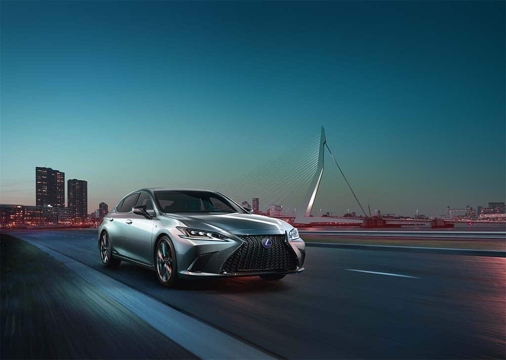 Lexus Shows Confidence With First Ever ES F Sport Version