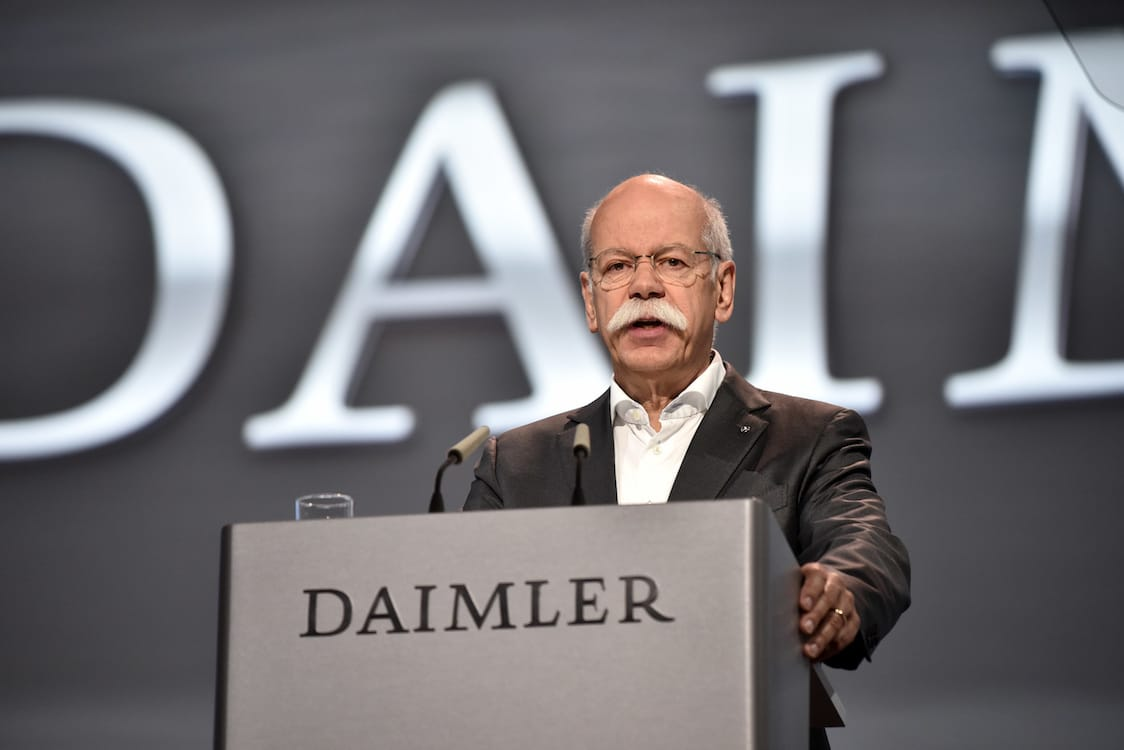 Daimler Profits Drop Double Digits Despite Car Sales