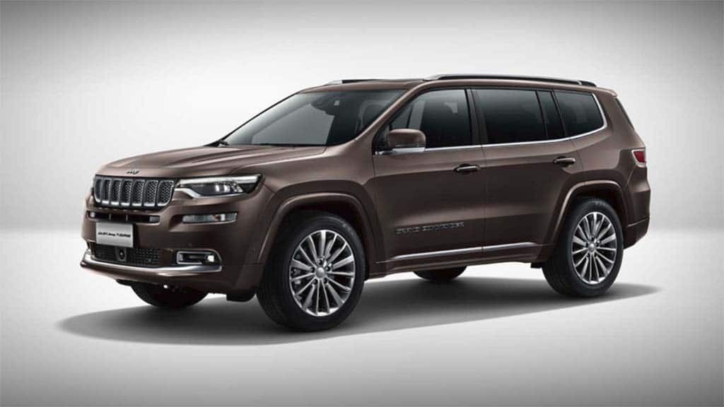 Jeep Grand Commander: Bigger is Better, at Least in Beijing