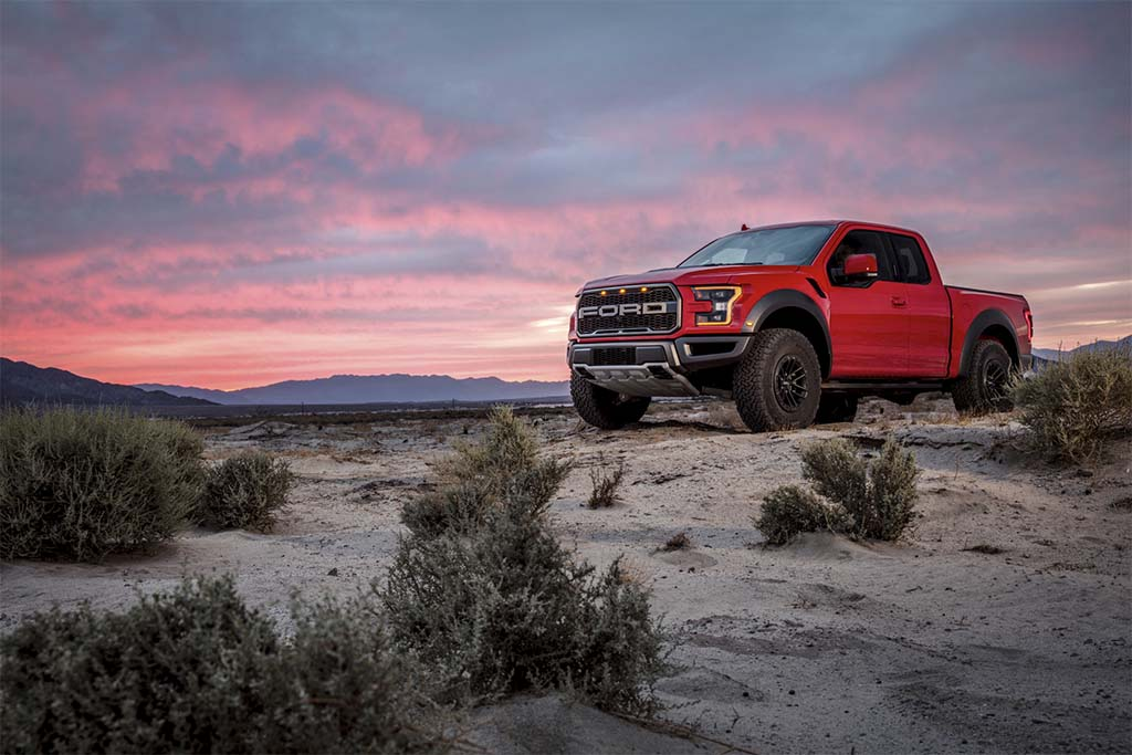 Ford updates F-150 Raptor pickup
