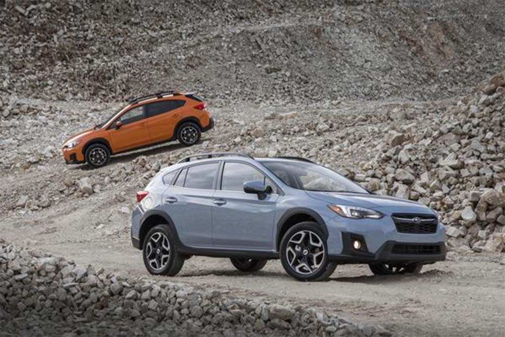 subaru s crosstrek will become its first plug in hybrid. Black Bedroom Furniture Sets. Home Design Ideas