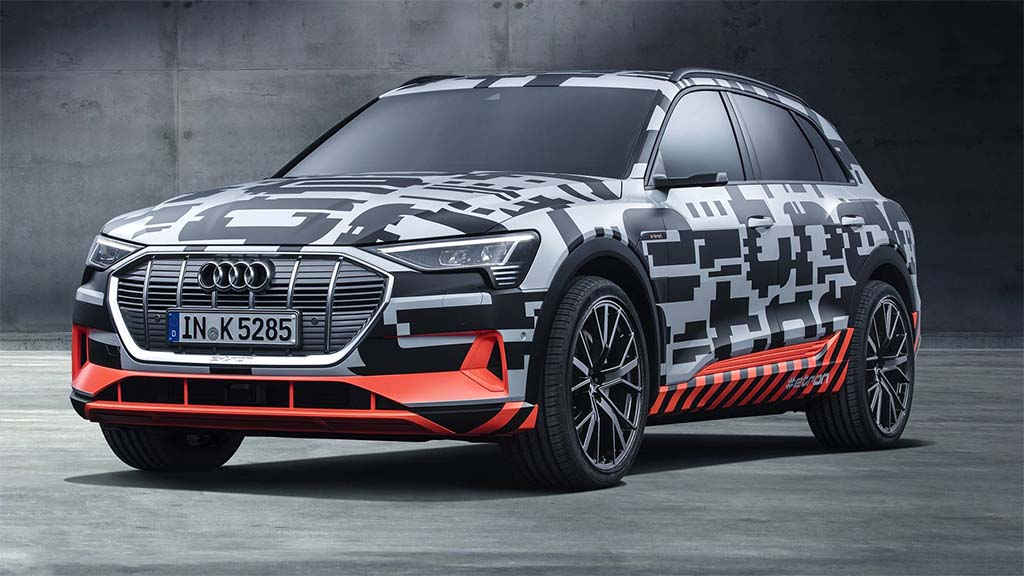 Audi Debuting New All Electric E Tron On August 30