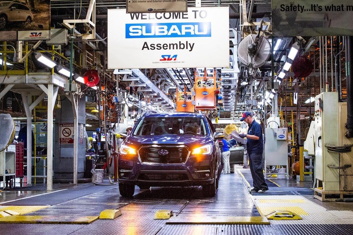 Subaru Investing $158M in Indiana Plant