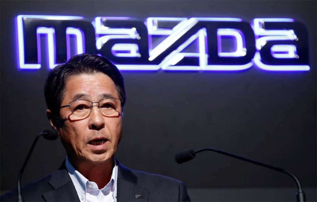Mazda names U.S. boss as new CEO to aid faltering USA growth